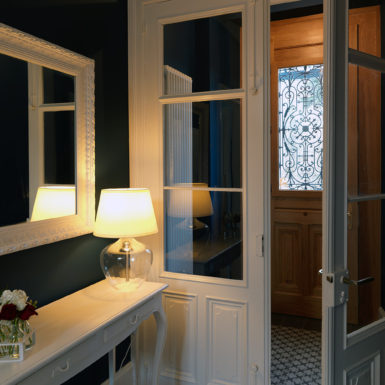 Les atouts de cette maison de maître mulhousienne ont été sublimés grâce aux travaux de modernisation réalisés par Marc Gallitelli.
