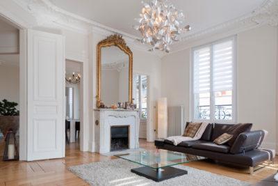 Les travaux de rénovation de Marc Gallitelli ont permis de redonner charme et caractère à cet appartement haussmannien à Mulhouse.