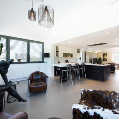 Marc Gallitelli a apporté son expertise dans ce projet de rénovation de maison à Eschentzwiller.
