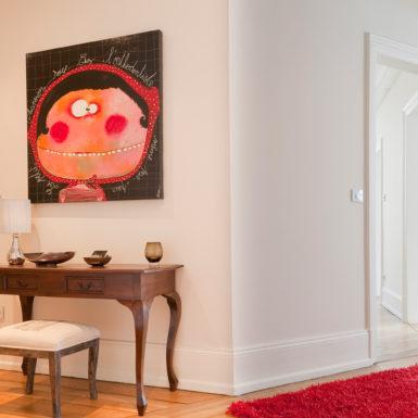 Les volumes des pièces de cet appartement haussmannien à Mulhouse ont été sublimés grâce aux travaux de rénovation réalisés par Marc Gallitelli.